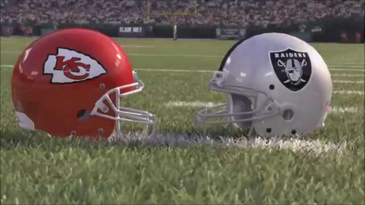 Image result for Chiefs vs. Raiders
