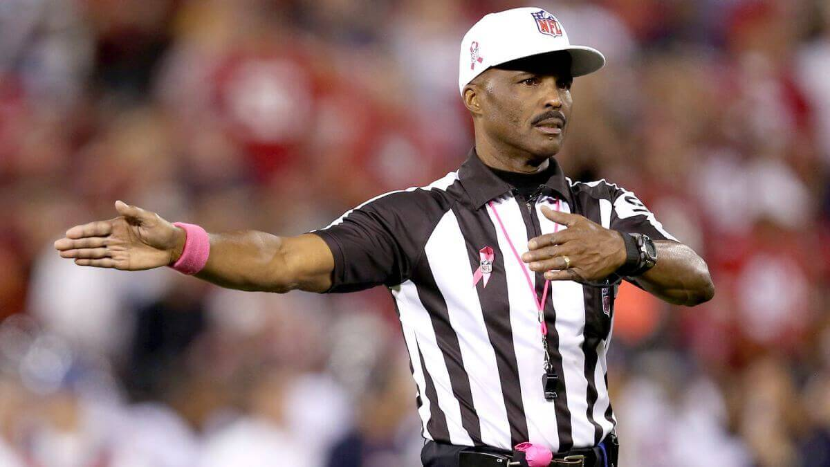NFL referee Mike Carey