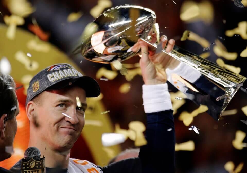 Super Bowl 50 Champions - Denver Broncos' quarterback, Peyton Manning