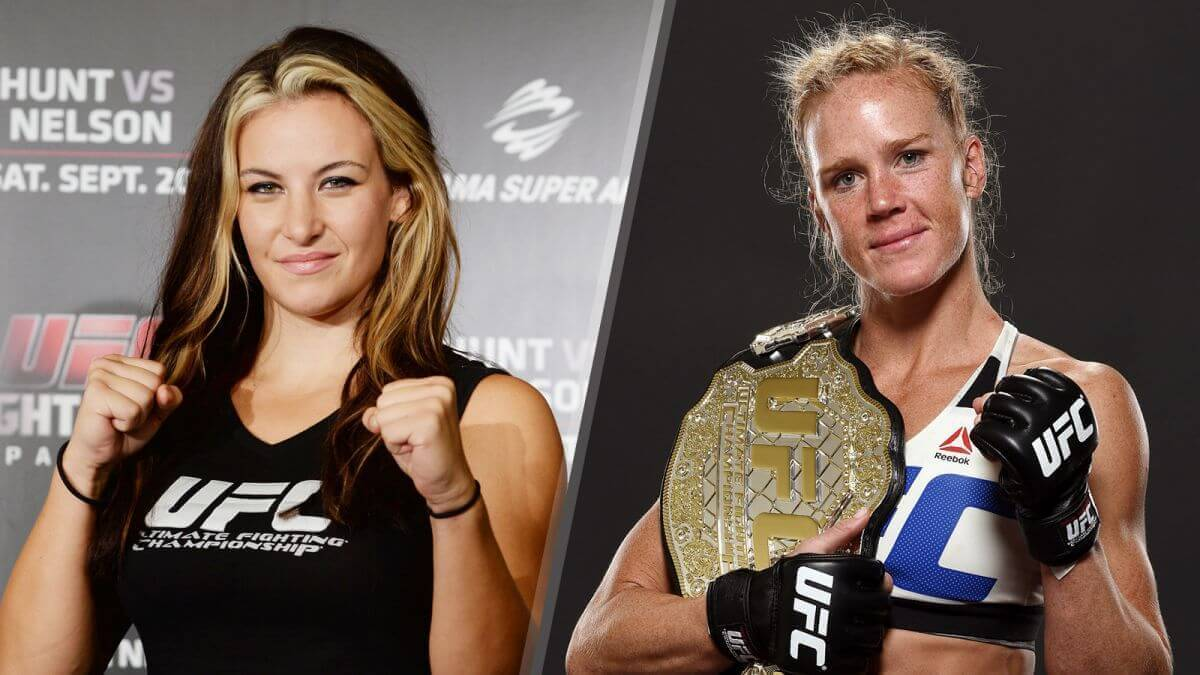 UFC 196 odds: Holly Holm's first title defense comes against Miesha Tate