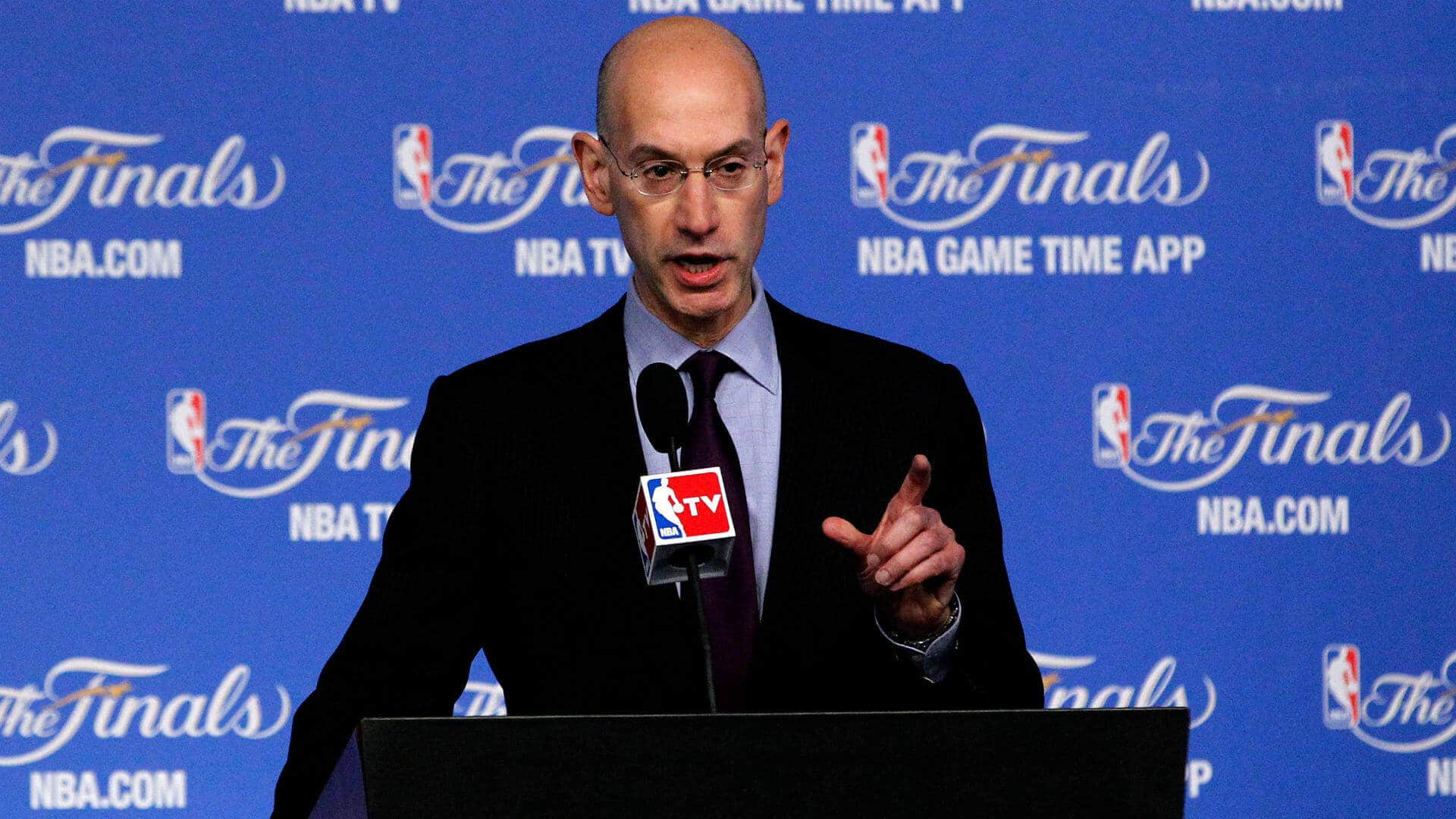 NBA Commissioner, Adam Silver is open to legalized sports betting.