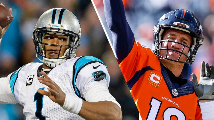 Cam Newton and Peyton Manning are oddsmaker favorites for 2015 Super Bowl MVP