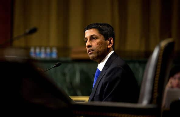 Padmanabhan Srikanth Srinivasan on Capitol Hill in April 2013. He is a circuit judge of the Federal Court of Appeals for the District of Columbia Circuit.