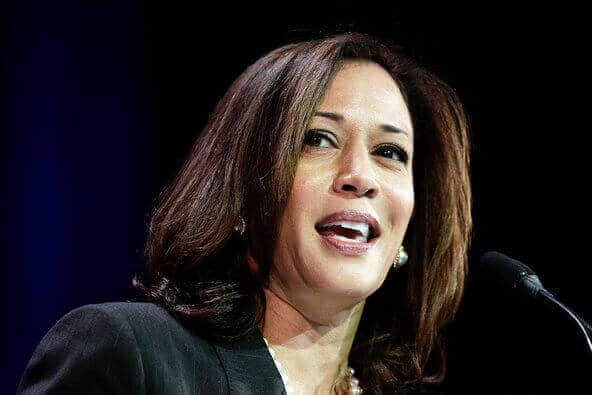 Attorney General Kamala D. Harris of California. She is the first African-American, Asian-American and woman to hold the job
