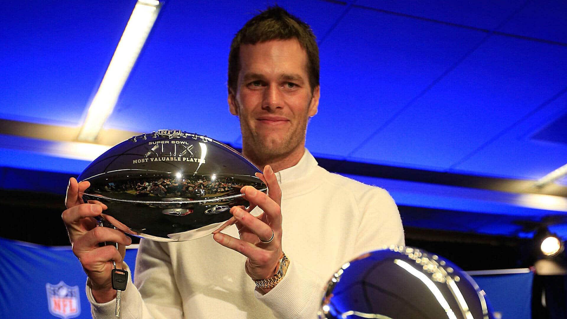 Tom Brady, Super Bowl MVP for Super Bowl 49