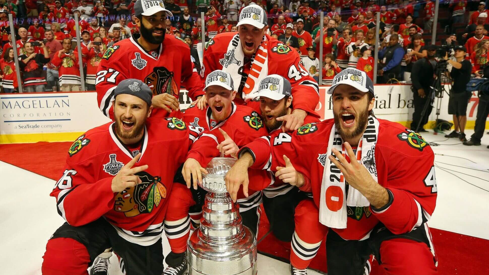 NHL Playoff Odds: Stanley Cup candidates Chicago Blackhawks