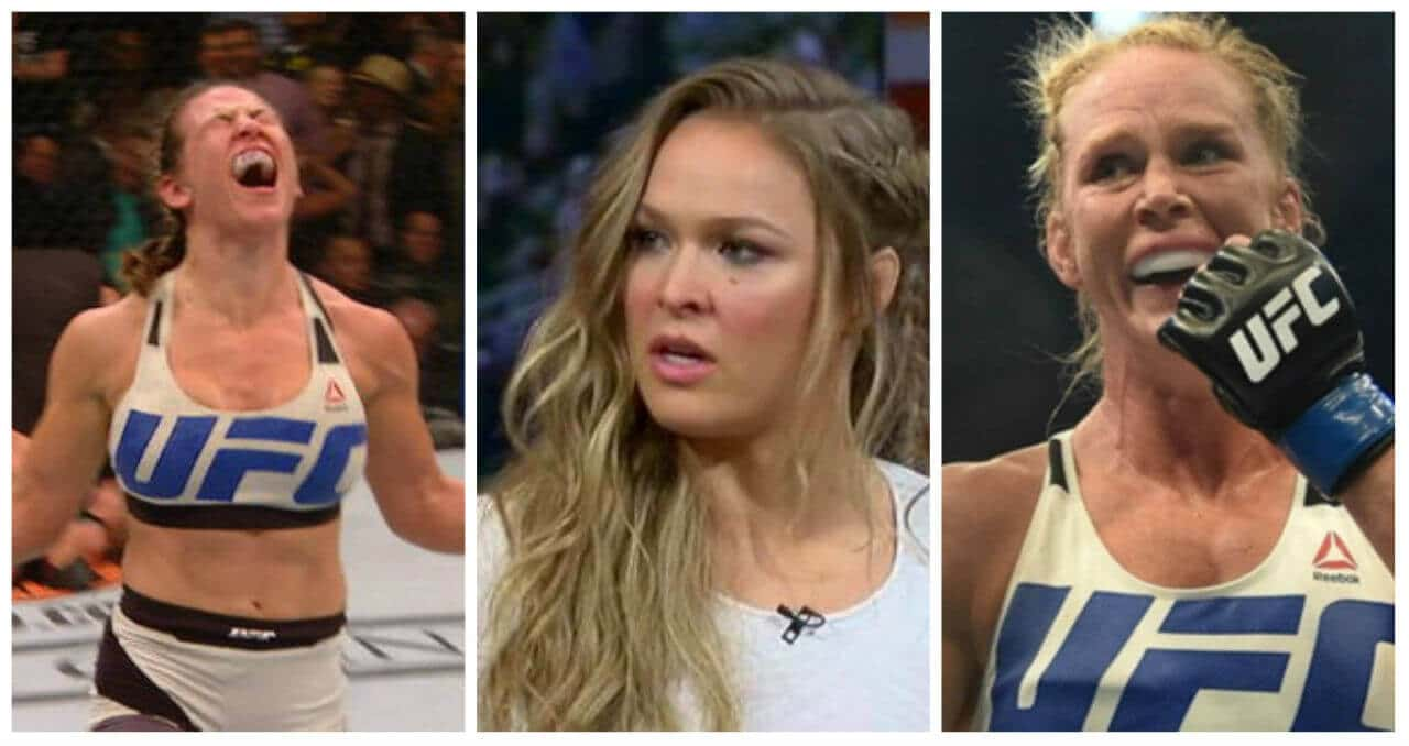 UFC odds: Miesha Tate, Ronda Rousey, Holly Holm