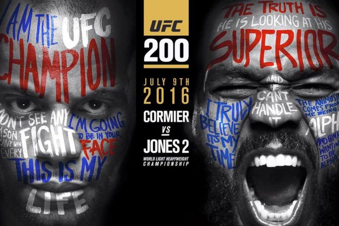 UFC 200 Odds: Jones Rematches Cormier