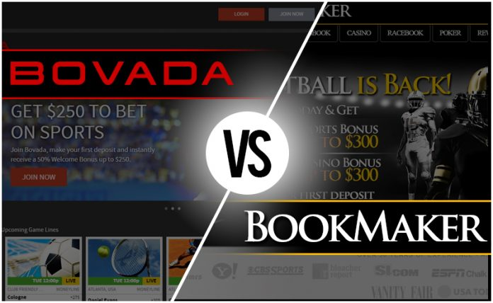 Sportsbook Review: Bovada vs BookMaker | BigOnSports