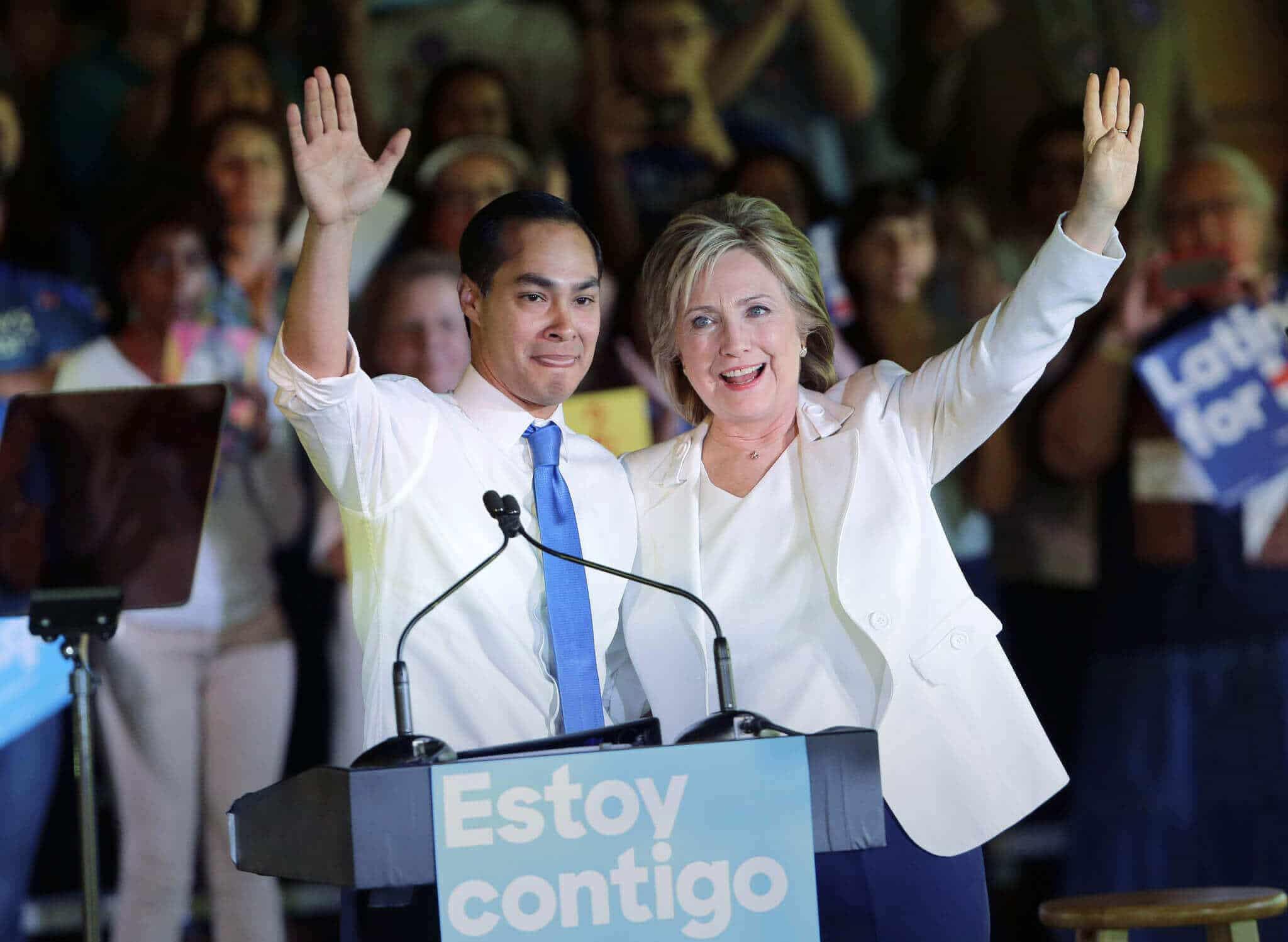 2016 Election: Clinton VP Odds – Julian Castro