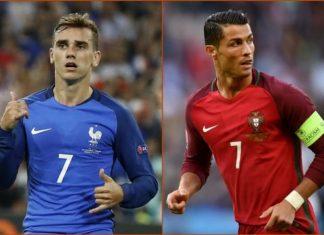 Euro 2016 Odds: France vs Portugal