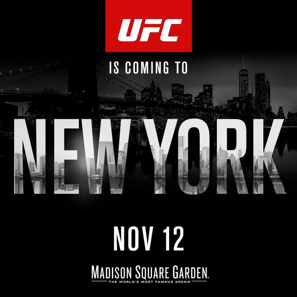 UFC 205 New York