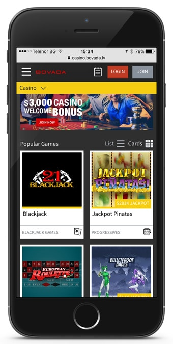 bovada sports betting mobile