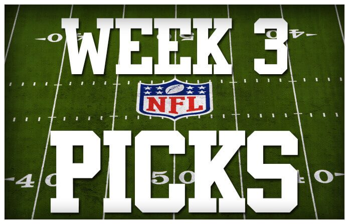 NFL Picks Week 3