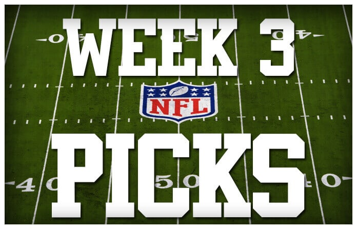 Week 3 NFL picks, predictions