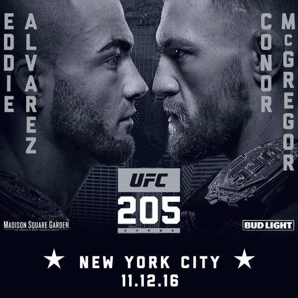 UFC 205 Betting Odds