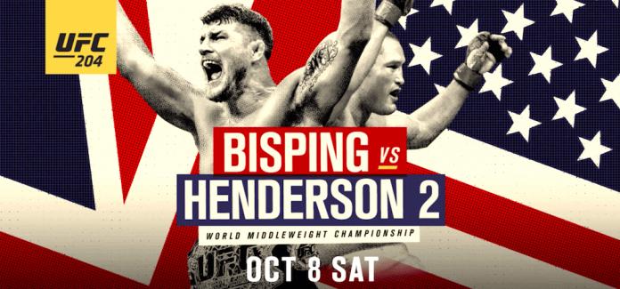 UFC 204: Michael Bisping vs Dan Henderson Odds