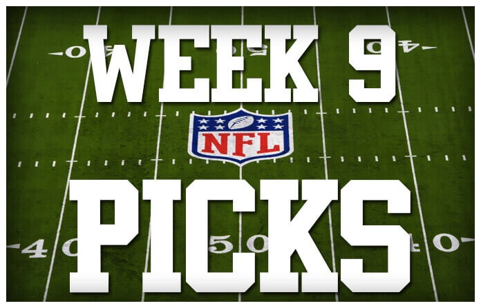 nfl week 9 betting picks current line nfl