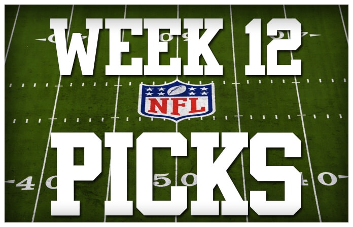 odds sports nfl picks for week 12