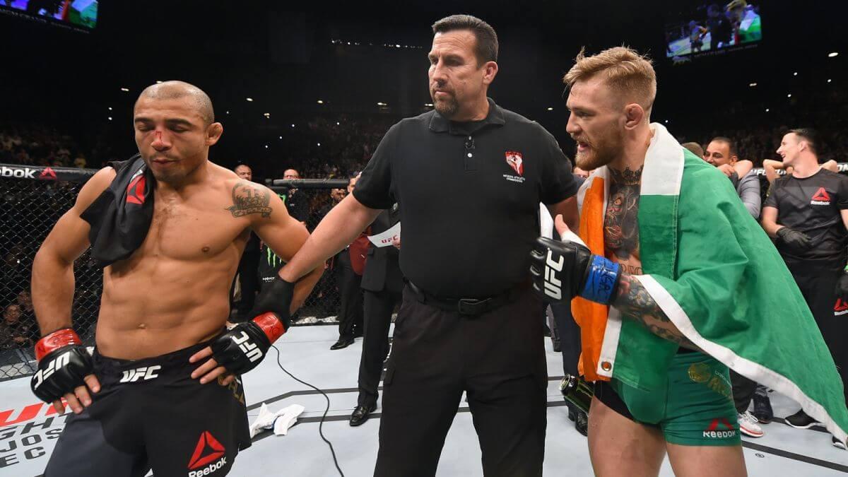 Conor McGregor vs Jose Aldo Fight Odds