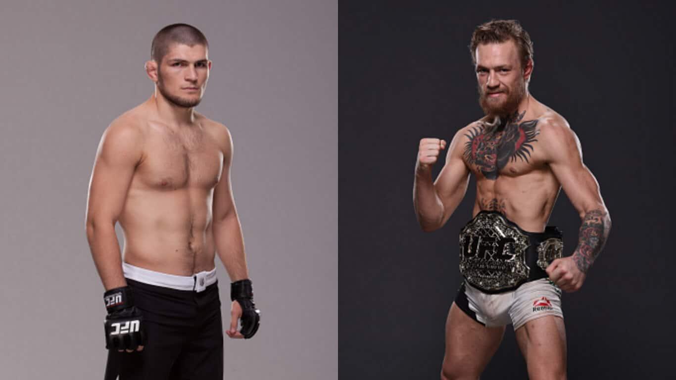 Conor McGregor vs Khabib Nurmagomedov MMA Betting Odds