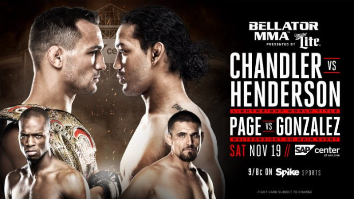 Bellator 165 Odds: Chandler vs Henderson