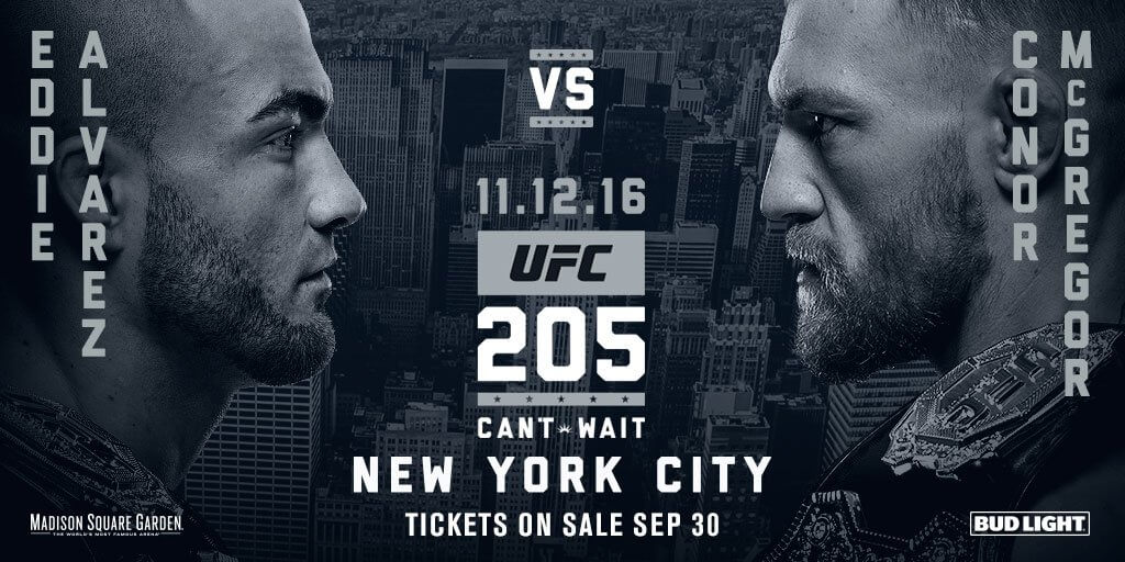 UFC 205 Odds