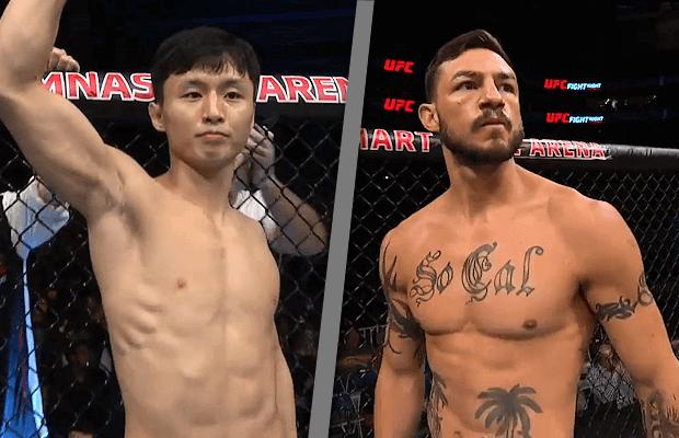 Doo Ho Choi vs Cub Swanson UFC 206 Odds