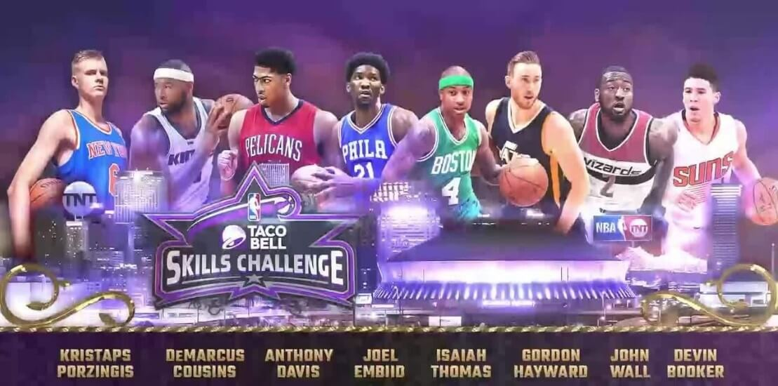 NBA All-Star Weekend Odds: Taco Bell Skills Challenge