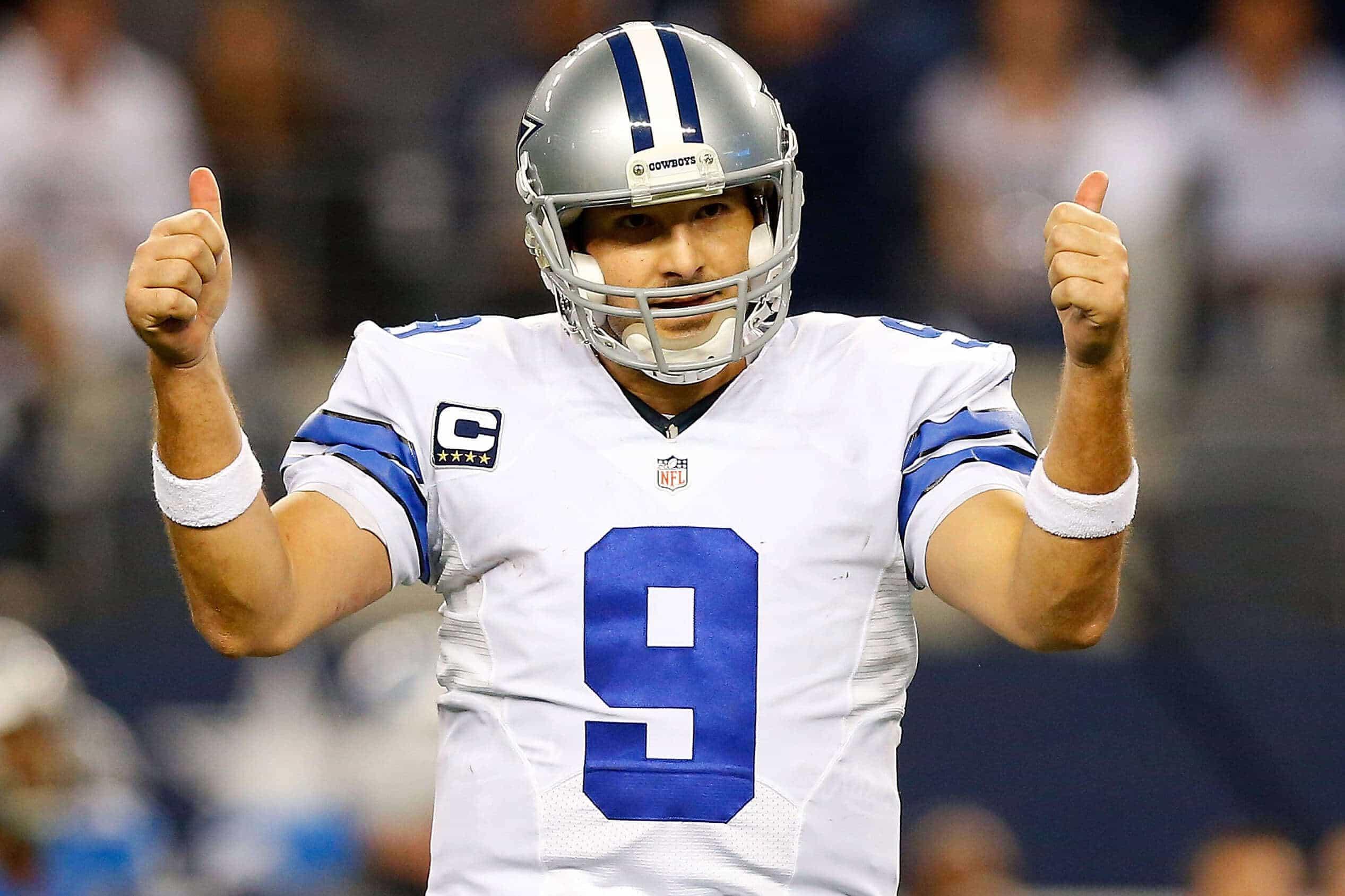 Tony Romo NFL Odds
