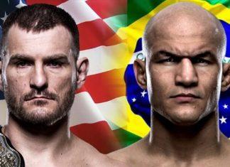 Miocic vs Dos Santos UFC 211 Odds