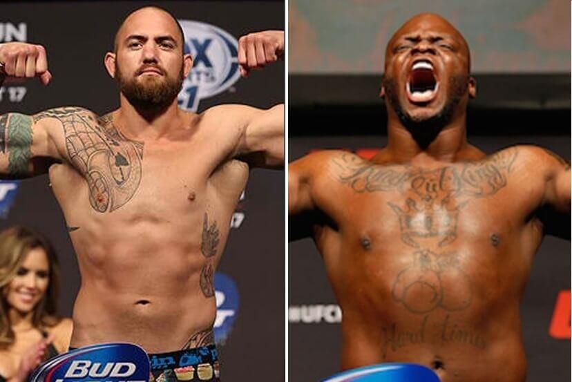 Travis Browne vs Derrick Lewis UFC Fight Night 105 Odds