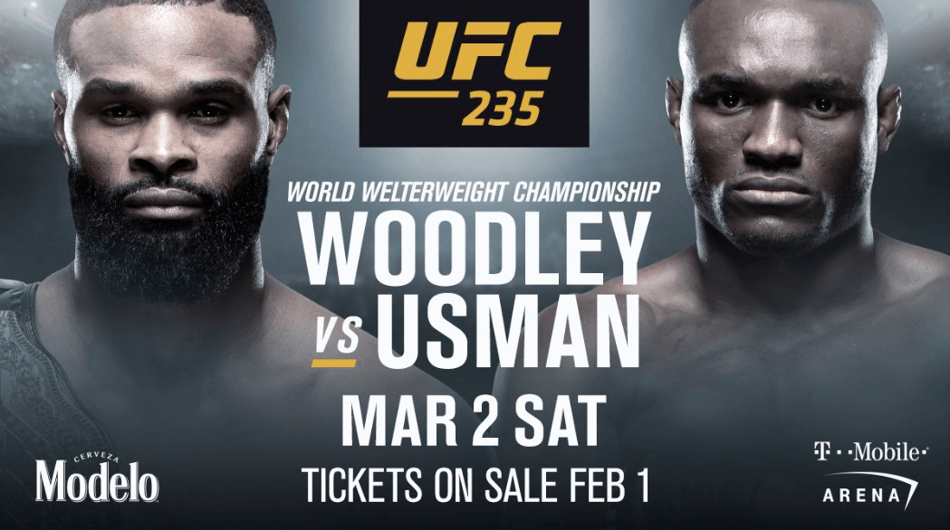 UFC 235 Opening Odds   BigOnSports