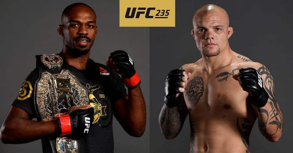 UFC 235 odds and picks   BigOnSports